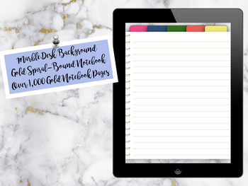"""Digital Goodnotes Giant Blank Notebook """"Lilly"""""""