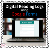 Digital Google Form Reading Logs