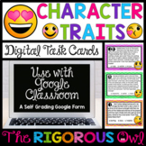 Distance Learning Digital Google Forms  Character Traits T