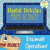 Activity Digital Google Forms Distance Learning Decimals