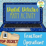 Fractions Digital Learning Google Forms Activity