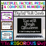 Distance Learning Digital Multiples, Factors, Prime and Composite Numbers