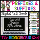 Distance Learning Digital Google Forms Prefixes and Suffix