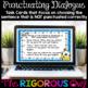 Digital Google Forms Punctuating Dialogue Task Cards