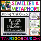 Similes and Metaphors Task Cards | Digital Google Forms |