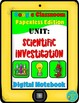 Scientific Investigation- Digital Interactive Notebook Bundle for Google Drive
