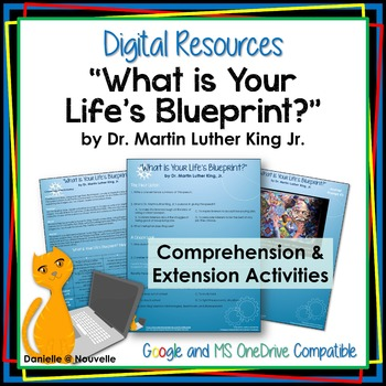Martin Luther King Jr. - What's Your Life's Blueprint? - Digital