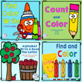Digital Google Slides Centers: Fall Fun Digital Centers K and 1st