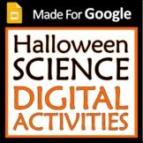 Digital Google Slides Halloween Science Activity Set for M