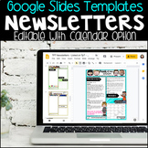 Digital Google Slides Newsletter Templates