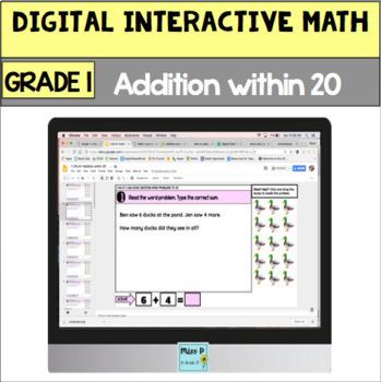 Digital Grade 1 Addition within 20