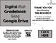 Digital Grade Book using Google Drive- Math Edition