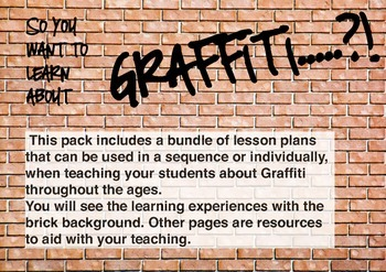 Integrated Literacy & ICT Digital Graffiti Unit