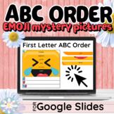 Digital Grammar - ABC Order Emoji Mystery Pictures - Googl
