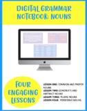 Digital Grammar Notebook: Nouns