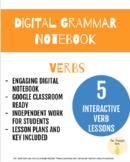 Digital Grammar Notebook: Verbs