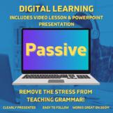Digital Grammar Presentation + Video Lesson: Passive Voice
