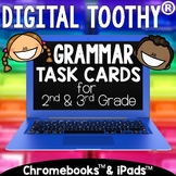 Digital Grammar Toothy ® Task Cards Bundle | Distance Learning