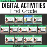Digital Grammar and Language Activities- 1st Grade Bundle