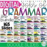 DIGITAL GOBS OF GRAMMAR 2nd 3rd Grade BUNDLE Sets 1 and 2