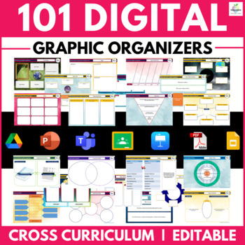 Digital Graphic Organizers / Digital Notebooks (Google Classroom & PowerPoint)