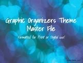 Digital Graphic Organizers *GROWING* Bundle