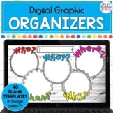 Digital Graphic Organizers   Templates and Activities   Distance Learning