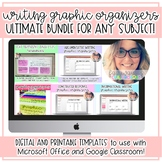 Digital Graphic Organizers: The ULTIMATE Bundle for ANY SUBJECT