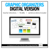 Digital Graphic Organizers for Distance Learning