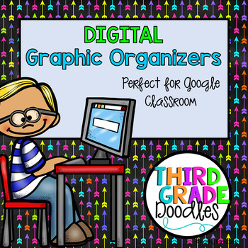 Digital Graphic Organizers for Google Classroom (Distance Learning)