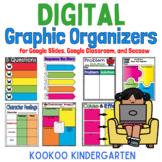 Digital Graphic Organizers for Google Slides, Google Class