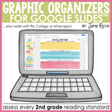 Digital Graphic Organizers for Reading | 2nd Grade