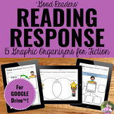 Digital Graphic Organizers for Reading Response for Google Classroom™