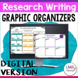 Digital Graphic Organizers for Research Writing, Nonfiction Graphic Organizers