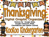 Digital Graphic Organizers for Thanksgiving