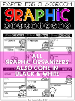 Digital Graphic Organizers for a Paperless Classroom