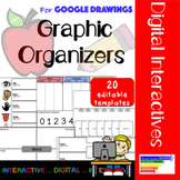 Digital Graphic Organizers using Google Drawings