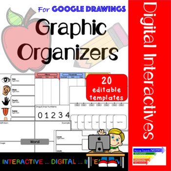 Digital Graphic Organizers using Google Drawings