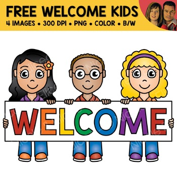 School Clipart - Free Welcome Kids