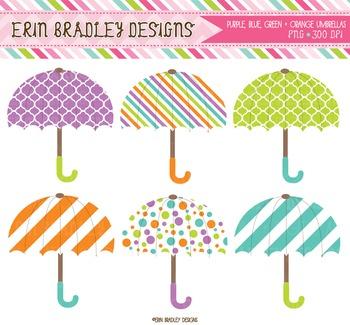 Digital Graphics - Umbrellas