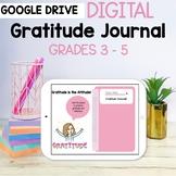 Digital Gratitude Journal Google Slides