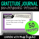 Digital Gratitude Journal - Powerpoint Version