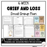 Digital Grief and Loss Small Group Counseling Lessons Resource Google Slides™