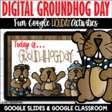 Digital Groundhog Day Activities | Distance Learning Googl