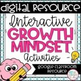 Digital Growth Mindset Interactive Activities for Google Classroom