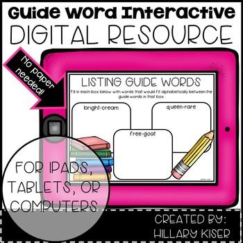 Digital Guide Word Resources