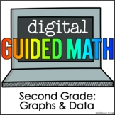 Digital Guided Math Second Grade Graphs and Data