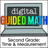 Digital Guided Math for Distance Learning Second Grade Tim