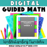 Digital Guided Math for Distance Learning - Understanding Numbers