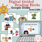 Digital Guided Reading Books Level A/1  (6 Books on Google